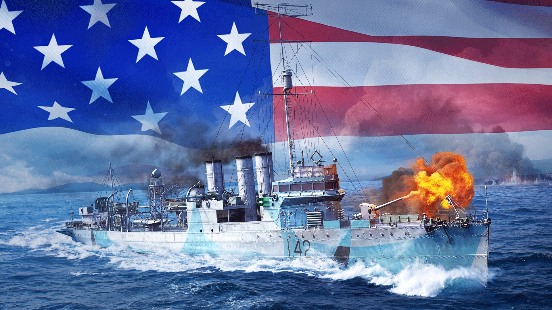 Get World of Warships: Legends - Navy Warrior Pack