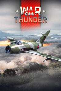 Carátula del juego War Thunder - MiG-17AS Pack