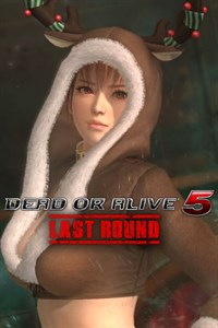 Carátula del juego DEAD OR ALIVE 5 Last Round Phase 4 Christmas Costume