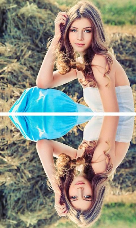 Photo Mirror Effect