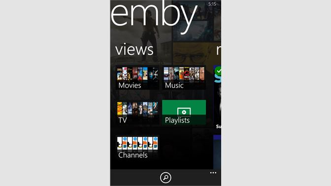 Get Emby - Microsoft Store