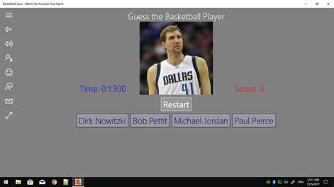 Basketball Quiz : Match the Pictures Free Game Screenshots 1
