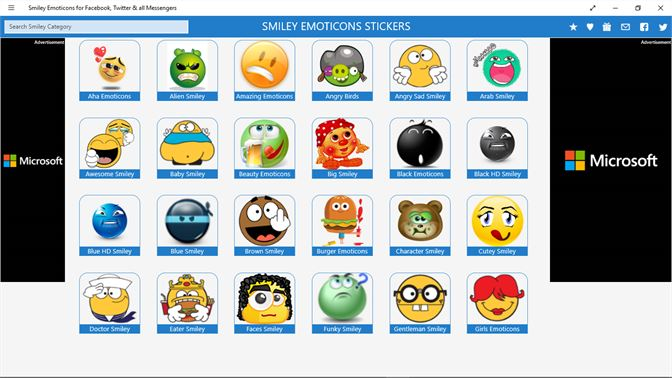 Smiley Emoticons For Facebook Twitter All Messengers Kopen
