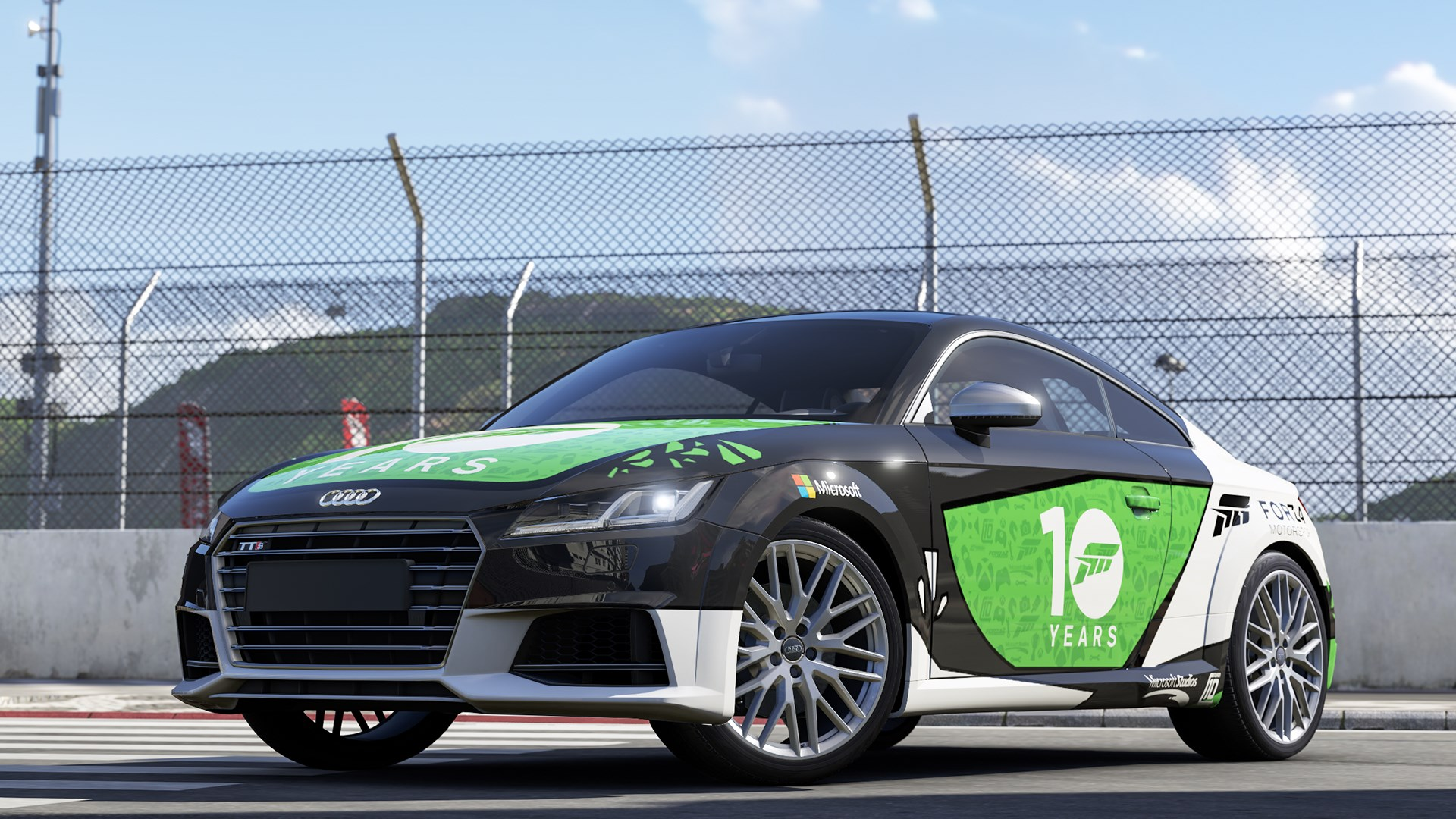 2015 Audi Team Forza TTS Coupé