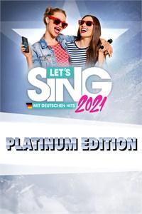 Let's Sing 2021 mit deutschen Hits Platinum Edition