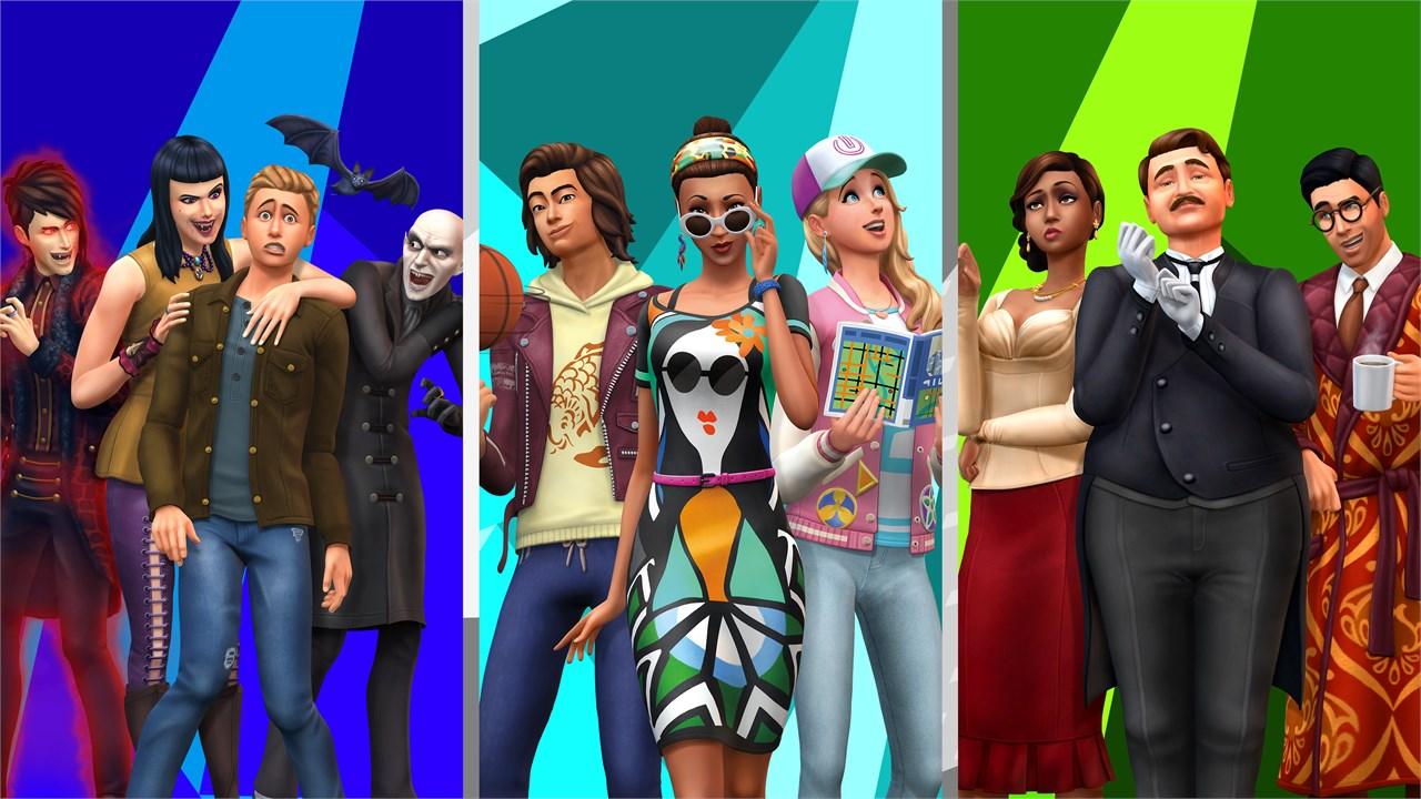 Buy The Sims 4 Bundle City Living Vampires Vintage Glamour Stuff Microsoft Store