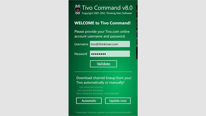Get Tivo Command - Microsoft Store