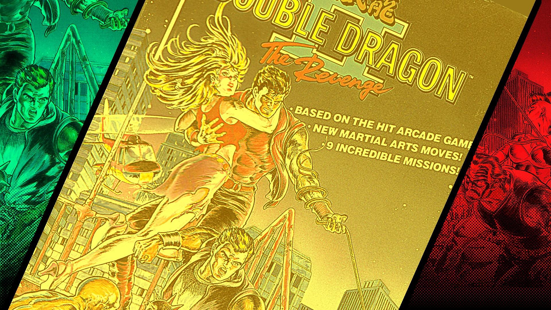 double dragon 2 the revenge arcade