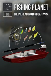Fishing Planet - Metalhead Motorboat Pack