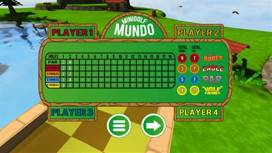 Mini Golf Mundo Free screenshot 7