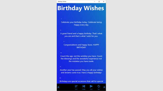Get Birthday Wishes