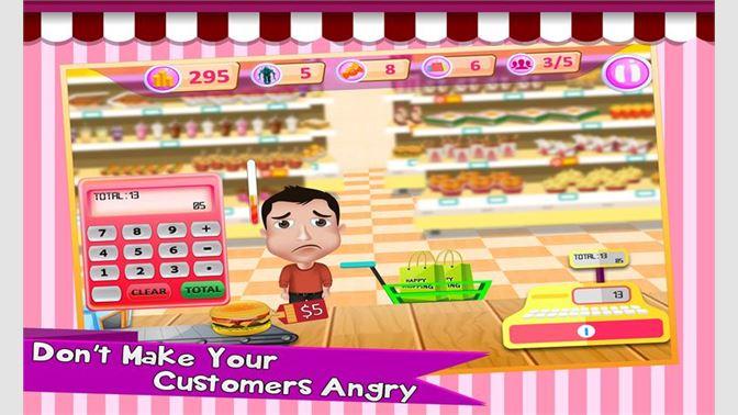 Fast Food Supermarket Cashier