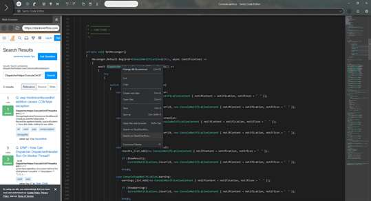 Serris Code Editor screenshot 3