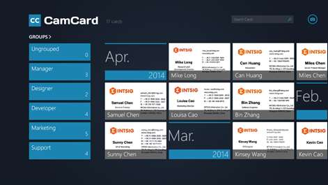 Get camcard professional business card reader microsoft store screenshot cardholder screenshot card details reheart Gallery