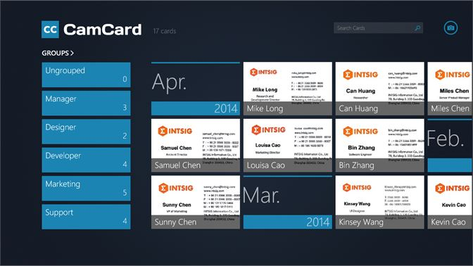 Get camcard professional business card reader microsoft store screenshot cardholder screenshot card details reheart Image collections