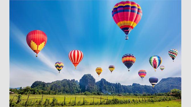 30+ Hot Air Balloon Wallpaper Hd Pics