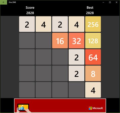 One 2048 Screenshots 1