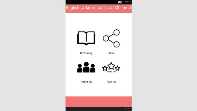 Get English to Tamil Translator Offline Dictionary - Microsoft Store