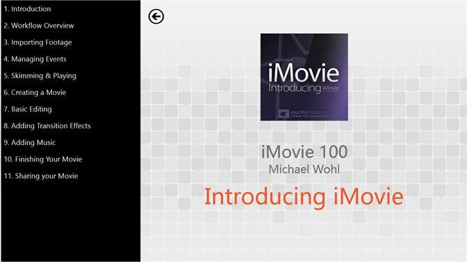 Get Intro to iMovie - Microsoft Store