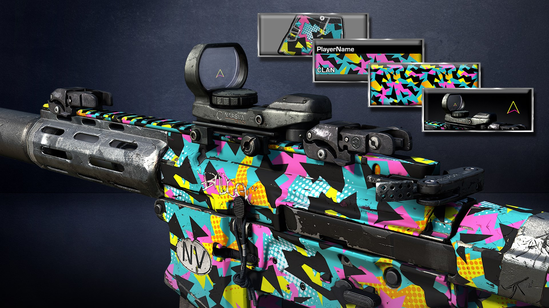 Paquete 1987 de Call of Duty®: Ghosts