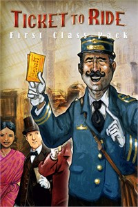 Carátula del juego Ticket to Ride - First Class Pack