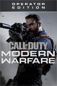 Carátula para el juego Call of Duty: Modern Warfare - Operator Edition de Xbox 360