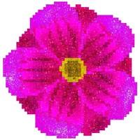 Get Flowers Glitter Color By Number Pixel Art Sandbox