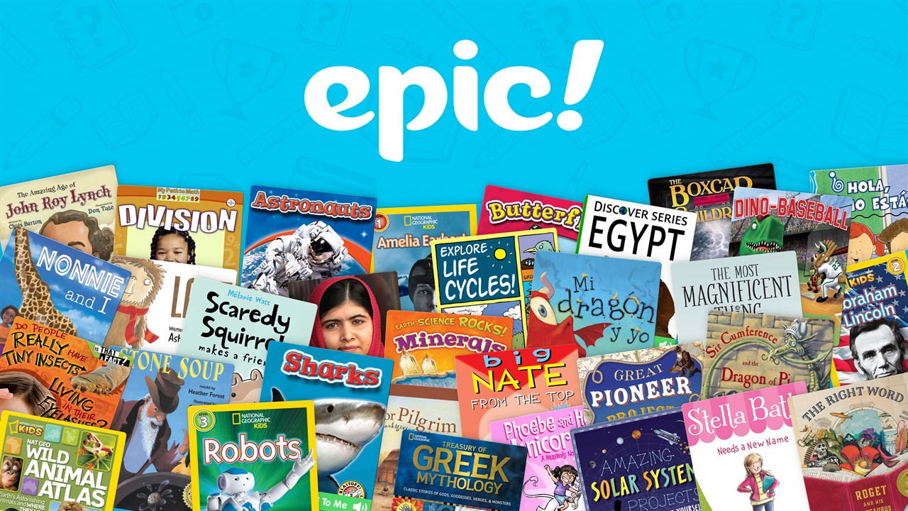 get epic books for kids