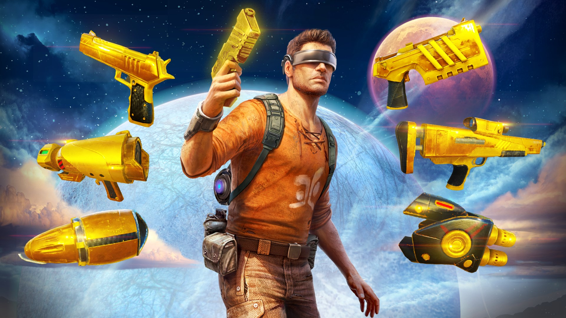 Outcast - Second Contact Golden Weapons Pack