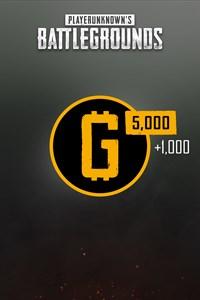 PUBG — 6000 монет G-Coin