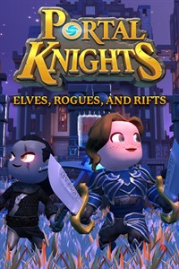 Carátula del juego Portal Knights - Elves, Rogues, and Rifts