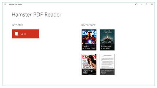 Hamster PDF Reader screenshot 1