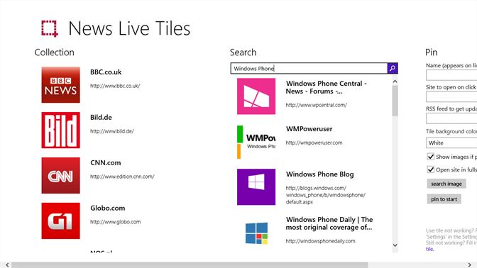Get News Live Tiles - Microsoft Store