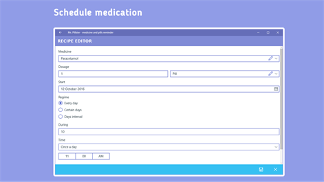 Mr. Pillster - pill reminder & medication tracker Screenshots 2