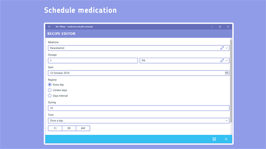Mr. Pillster - pill reminder & medication tracker screenshot 2