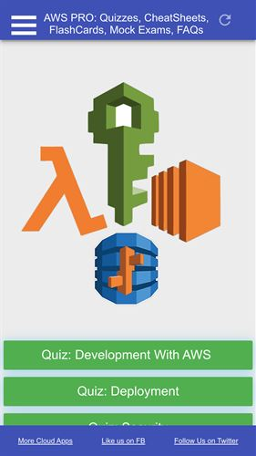 AWS Certified Developer Associate Exam Prep Screenshot