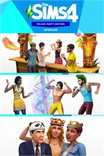 Buy The Sims 4 Deluxe Party Edition Upgrade Microsoft Store