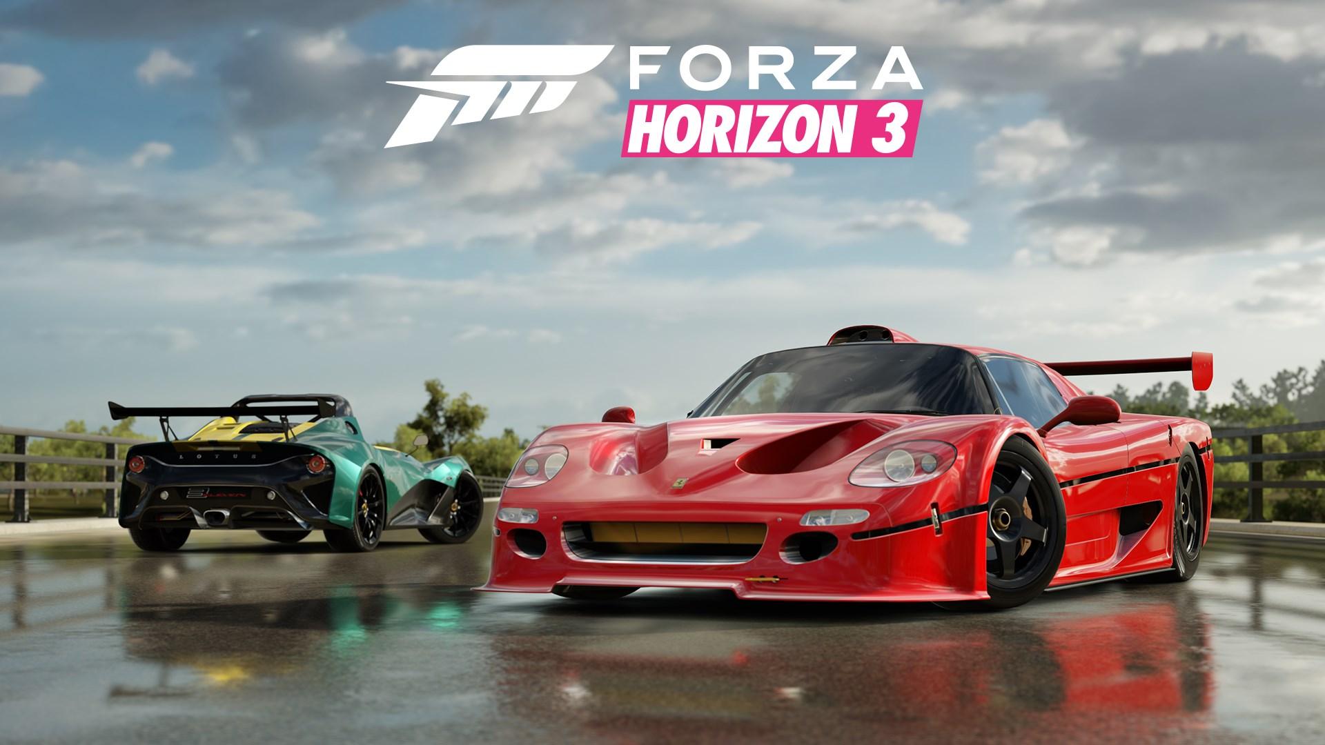 Pack de voitures Mountain Dew Forza Horizon 3