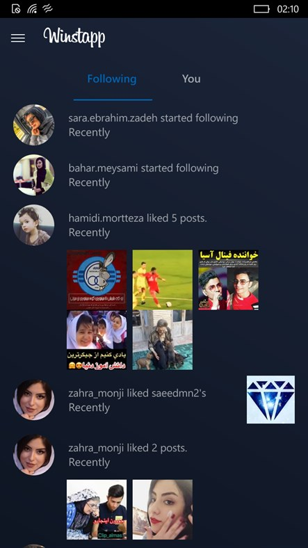 Winsta - An Instagram Universal Experience – (Windows Phone