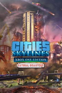 Carátula del juego Cities: Skylines - Natural Disasters