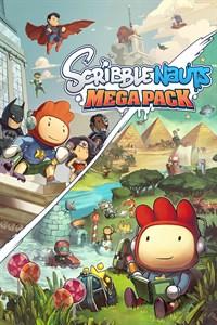 Carátula para el juego Scribblenauts Mega Pack de Xbox 360