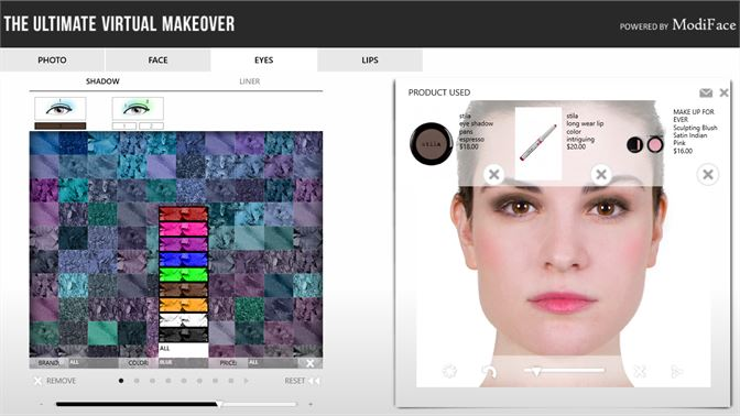 ... Find your shade by filtering and sorting the makeup palettes!