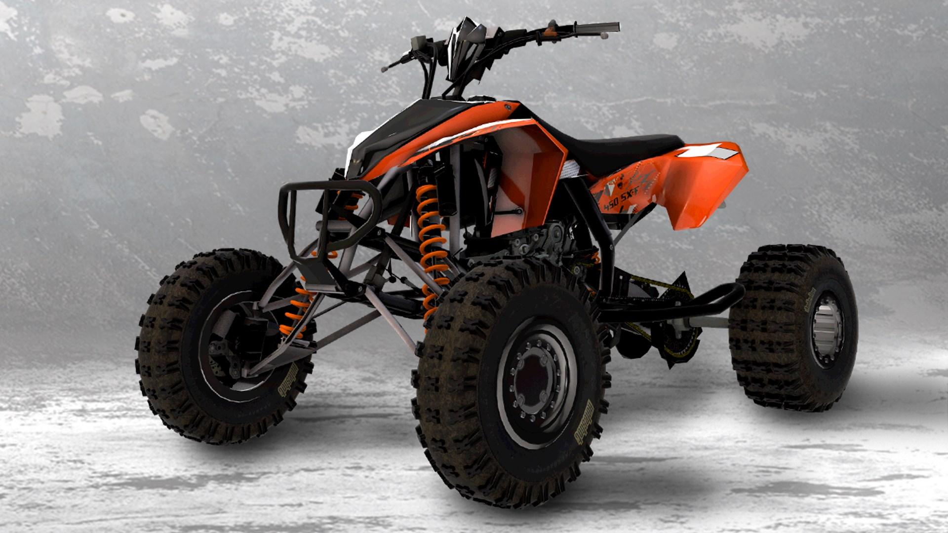2011 KTM 450 SX ATV