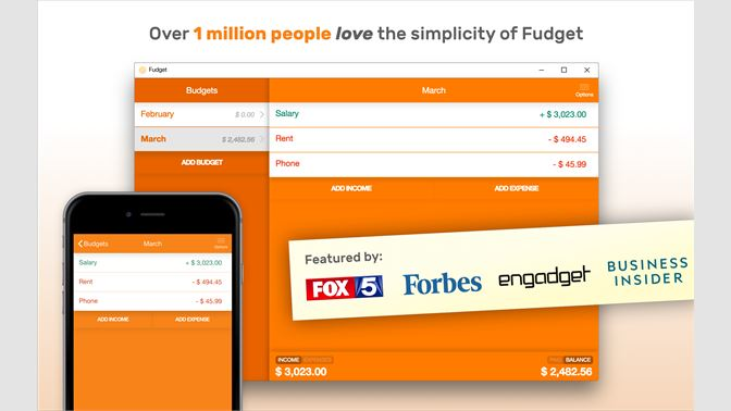 fudget budget planner personal finance tracker を購入 microsoft