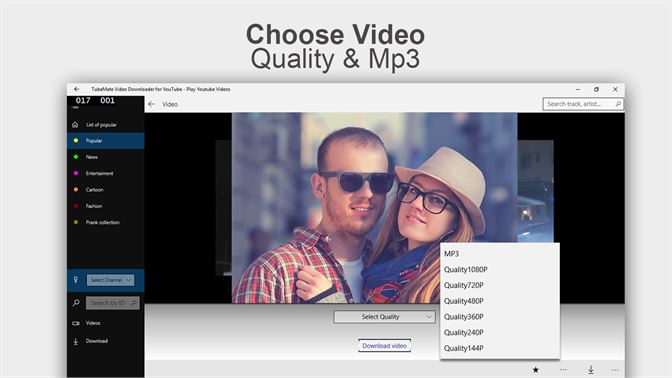 Get Video & Mp3 Music Downloader for Youtube Videos - Microsoft