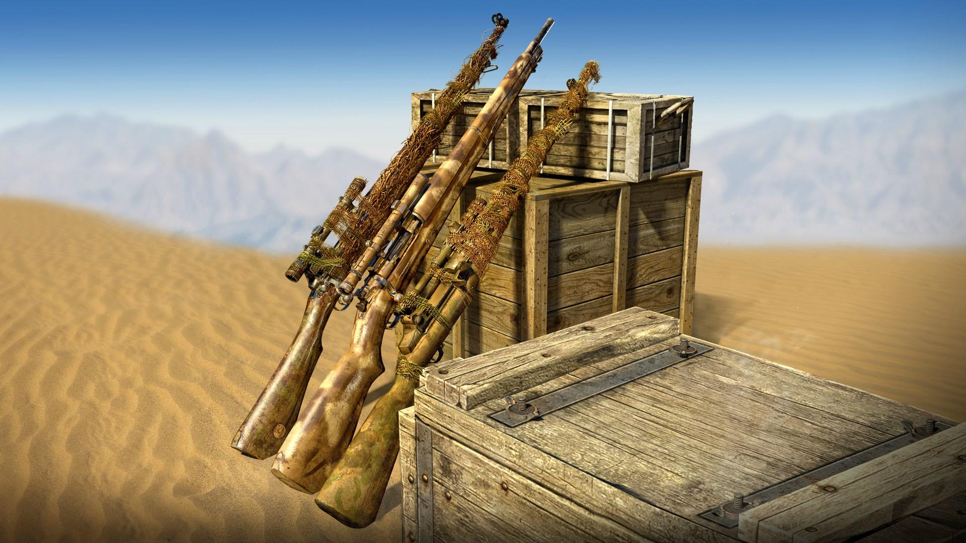U.S. Camouflage Rifles Pack