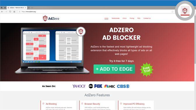 Get AdZero Adblocker - Microsoft Store en-NZ