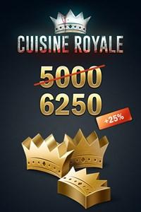 Cuisine Royale - 5000 (+1250 Bonus) Golden Crowns