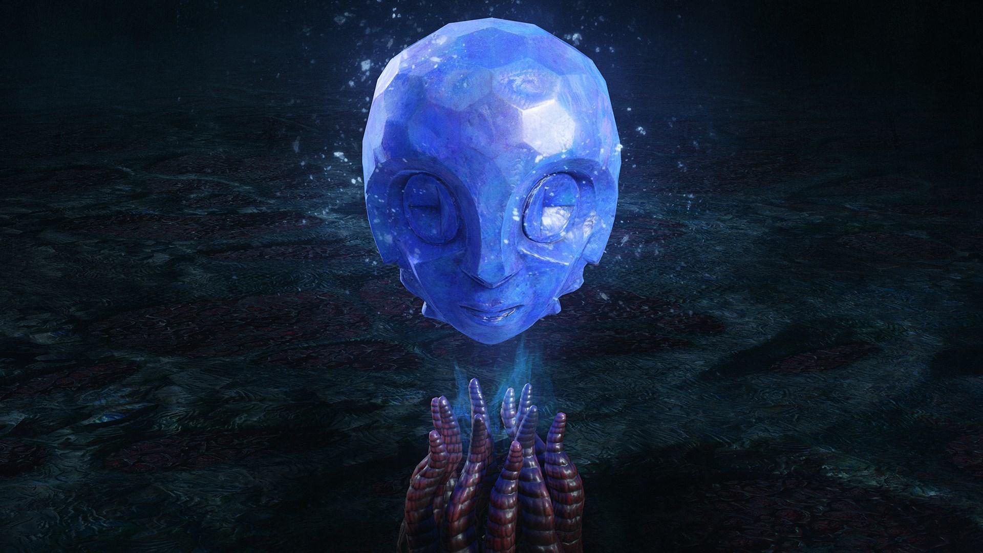 1 синяя сфера