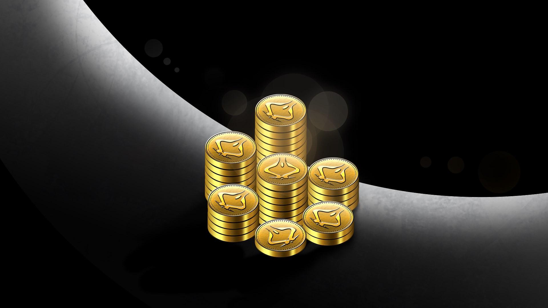 Pack de monedas grande